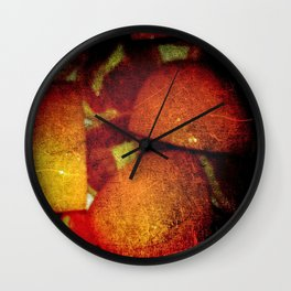 Pile of Slices Wall Clock