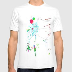 Secret Place Number 552 MEDIUM Mens Fitted Tee White