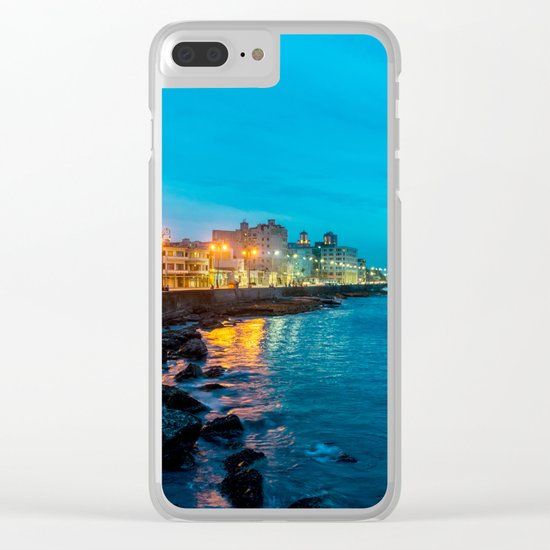 La Vida Nocturna Clear iPhone Case