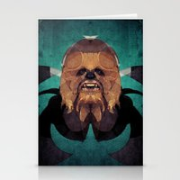 chewbacca Stationery Cards featuring Chewbacca by lazylaves
