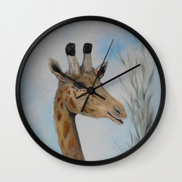 Giraffe Smile Wall Clock