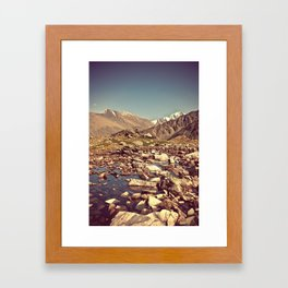unforgettable day Framed Art Print