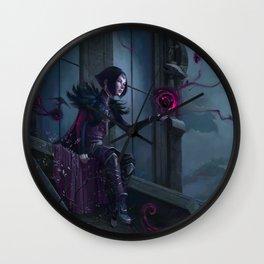Black Mage Wall Clock