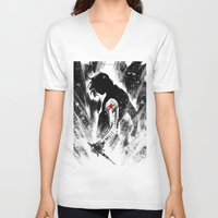storm V-neck T-shirts featuring storm by axeeeee