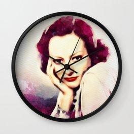 Joan Crawford, Vintage Actress Wall Clock