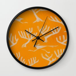 Desert Series - Roadrunner 1 - Sun Yellow Variant Wall Clock