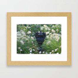 Munsinger Gardens Three Framed Art Print