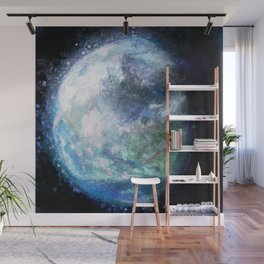 Painted Earth Expressionist Painting Wall Mural