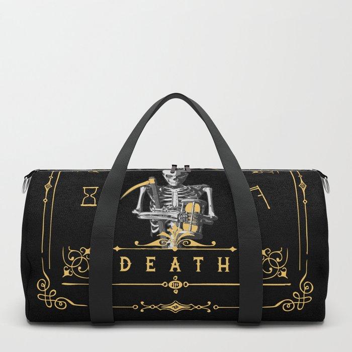 Death XIII Tarot Card Duffle Bag