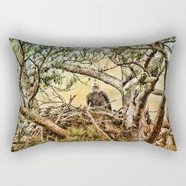 The Eagles' Nest Rectangular Pillow