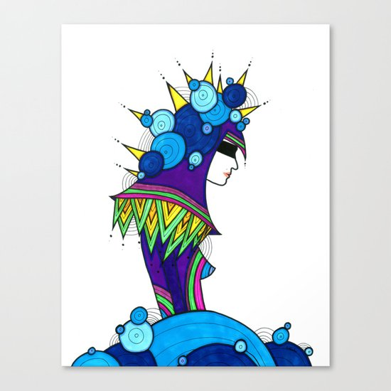 Binded Canvas Print