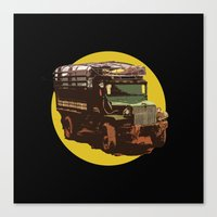 truck Canvas Prints featuring Truck by Mirko Dessureault