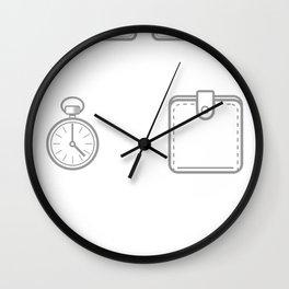 CROSS YOURSELF Saint Wall Clock