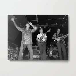 The Nighthawks & Skip Castro band Metal Print
