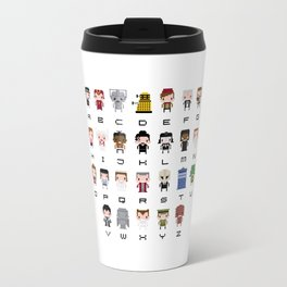 Doctor Who Alphabet Travel Mug
