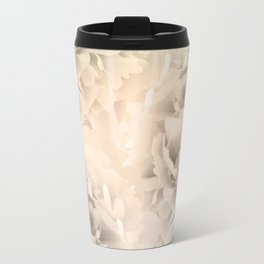 Sepia Peonies Dream #1 #floral #decor #art #society6 Travel Mug