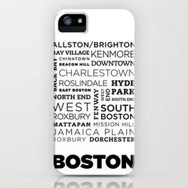 City of Neighborhoods - II iPhone Case