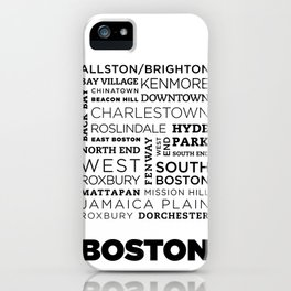 City of Neighborhoods - II iPhone Case