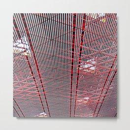 A Capital Ceiling Metal Print