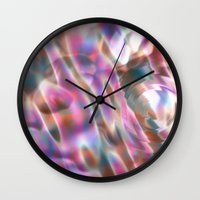 river Wall Clocks featuring River by tuditees