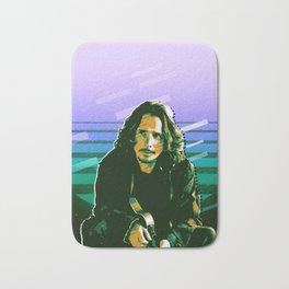 Chris Cornell retro Bath Mat