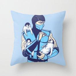 Animality Throw Pillow