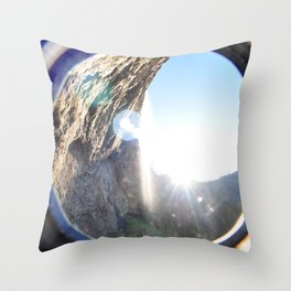 Life Between The Trees Throw Pillow