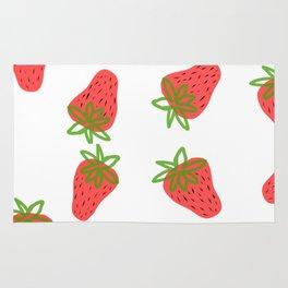 Strawberry fields Rug