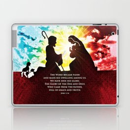 We Have Seen His Glory! Laptop & iPad Skin