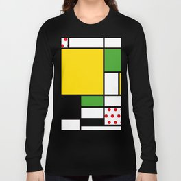 Mondrian – Bycicle Long Sleeve T-shirt