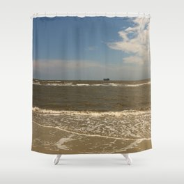 St Simons Island Beach Shower Curtain