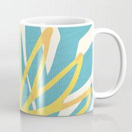 Happy Summer Abstract Coffee Mug