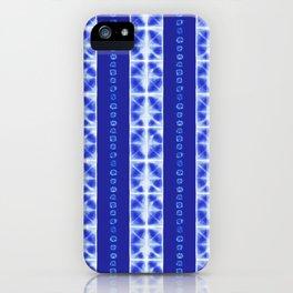 Shibori strips iPhone Case