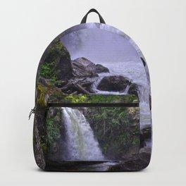 Sutherland Falls BC,Canada Nature Scene Backpack
