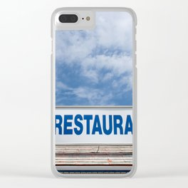 Open 24 Hours. Clear iPhone Case