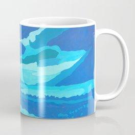paisaje azul Coffee Mug