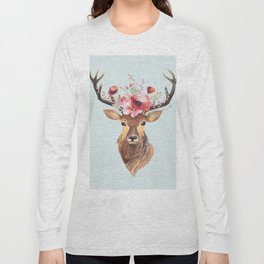 Bohemian Deer 2 Long Sleeve T-shirt