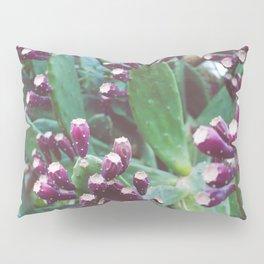 Purple Cactus Pillow Sham