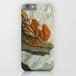 Wood Dragon iPhone Case
