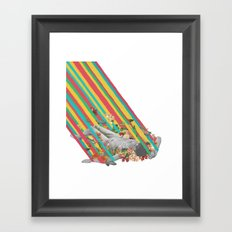 Fleeting Framed Art Print