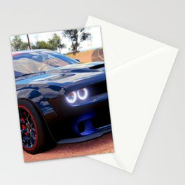 Highway Police Patrol Challenger Demon color photograph / photography / poster Stationery Cards