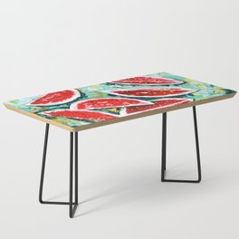 watermelon acrylic art Coffee Table