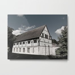 The Hospitium in York museum gardens Metal Print
