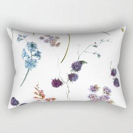 A Bounty of Joy - Flowers - Rectangular Pillow