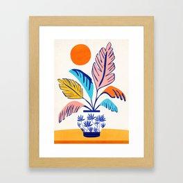 Summer Tropical Still Life Framed Art Print