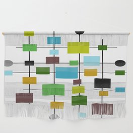 Mid-Century Modern Art 1.3.2 Wall Hanging