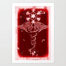 Caduceus - 033 Art Print