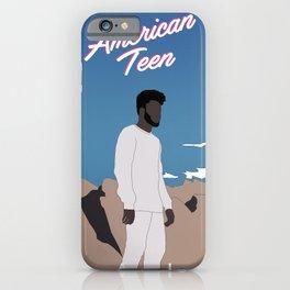 Khalid American Teen iPhone Case