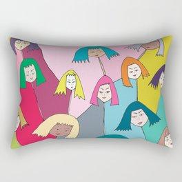 The Joys Rectangular Pillow