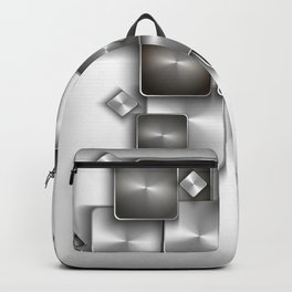 Abstract buttons background Backpack